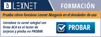 RedAbogacía pone en marcha un simulador para probar el uso de LexNet Abogacía