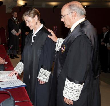 Victoria Ortega toma posesión como presidenta de la Abogacía Española