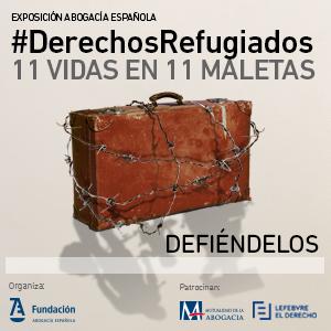 Exposición #DerechosRefugiados, 11 vidas en 11 maletas. Tan dura como necesaria. ¿Te la vas a perder?