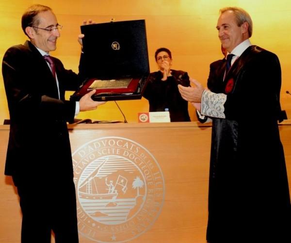 El magistrado Carlos Izquierdo Téllez, elegido nuevo Académico de la Real Academia de Jurisprudencia y Legislación