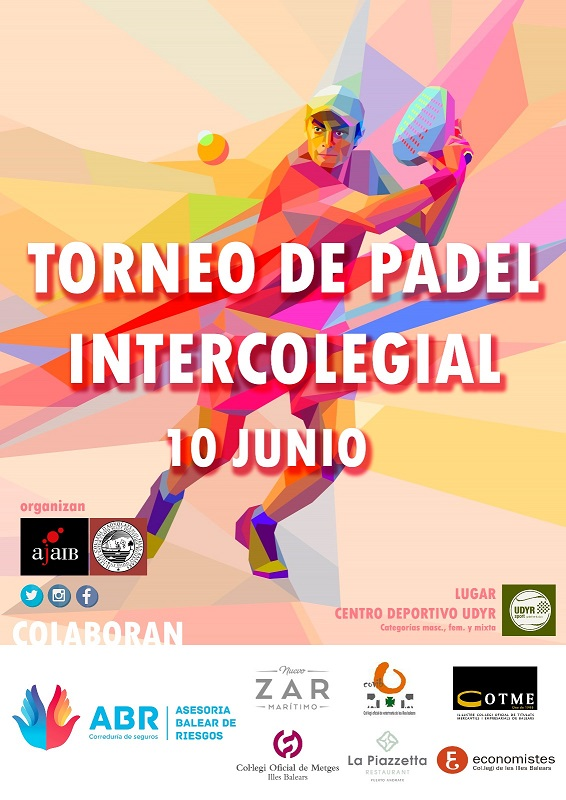 10/06/2018.- VIII Torneo de Pádel Intercolegial