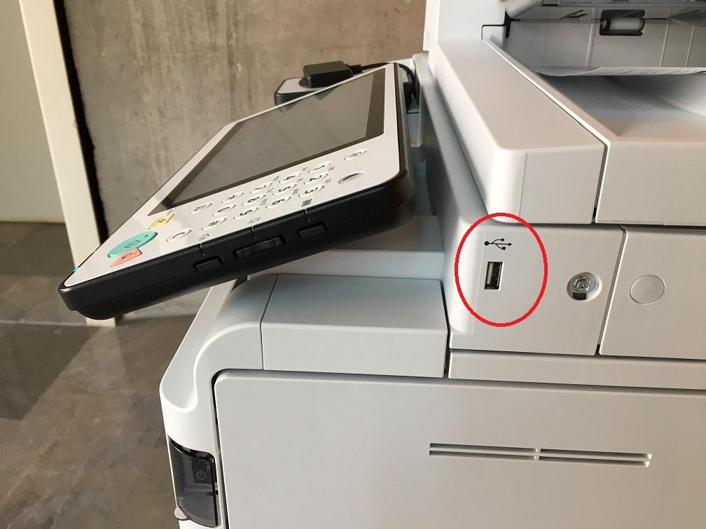 Impresión directa desde el USB en las fotocopiadoras del ICAIB