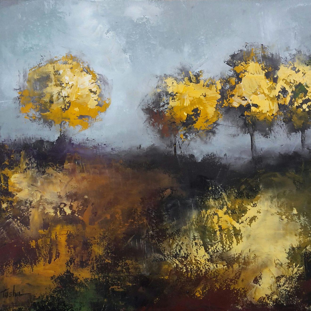 Nueva exposición de pintura de Tasha Poletaeva