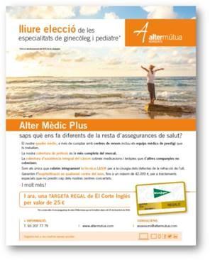 Atención personalizada de Alter Mutua de los Abogados y campaña promocional de salud 2018. (07/11/2018)