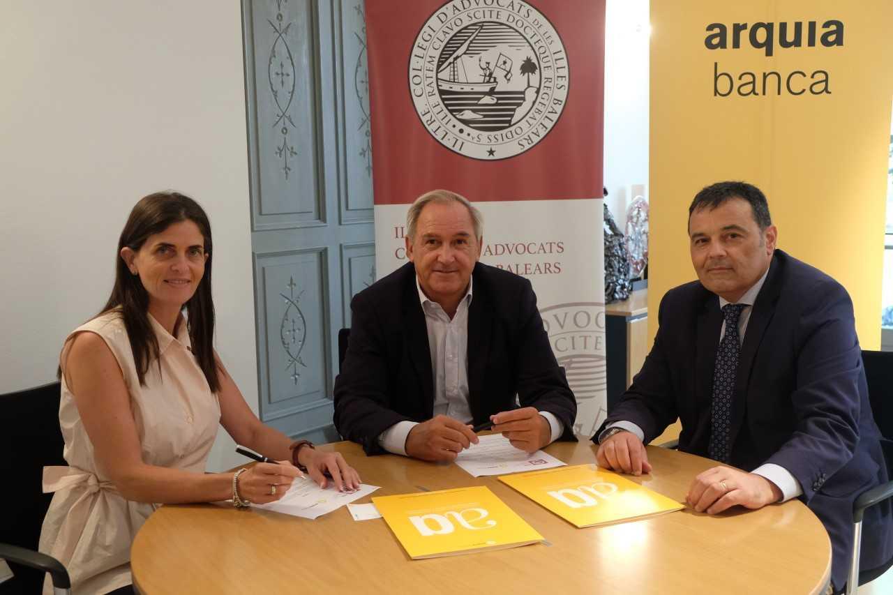 Convenio entre el ICAIB y Arquia
