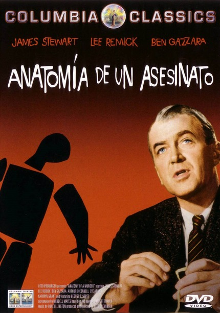 """El jueves 15 de noviembre os invitamos a ver """"Anatomía de un asesinato"""", el gran clásico del cine jurídico"""