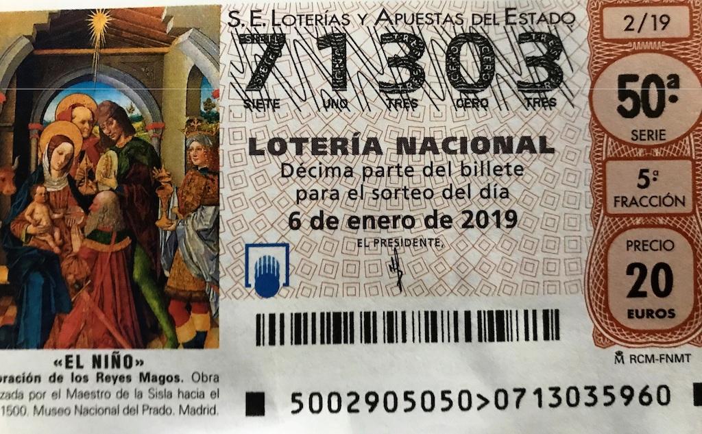 """Lotería de """"El Niño"""""""