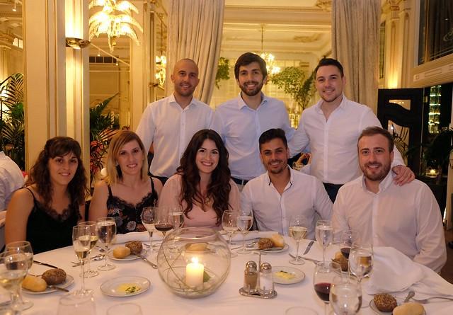 Viernes 7 de junio, fiesta anual del ICAIB y cena de compañerismo
