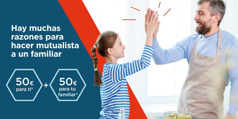 """La Mutualidad activa la campaña """"Haz mutualista a un familiar"""""""