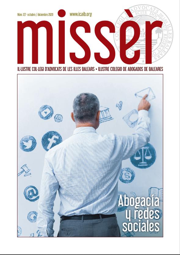 Advocacia i xarxes socials, al número 127 de Missèr