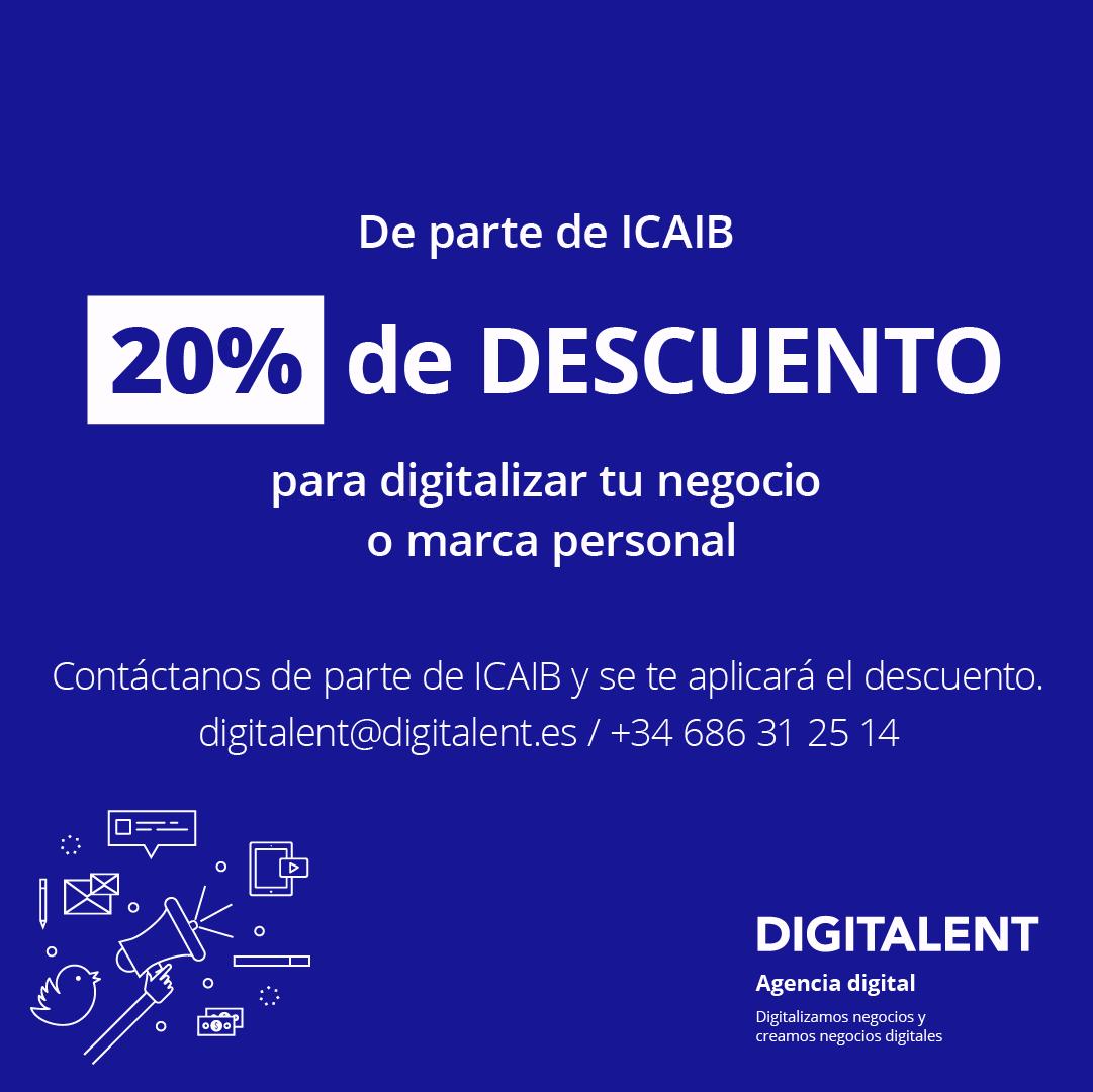Digitalent ofrece a los colegiados un 20% de descuento en la digitalización del despacho o marca