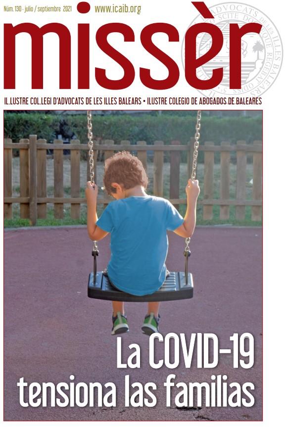 COVID-19 i Dret de Família, en el número 130 de Missèr